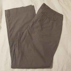 Cabela's Casuals grey twill pants 12